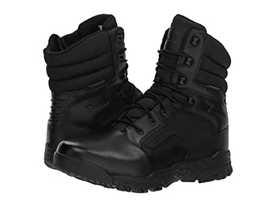 Bates Footwear Seige 8 Waterproof Side Zip (Black) Men