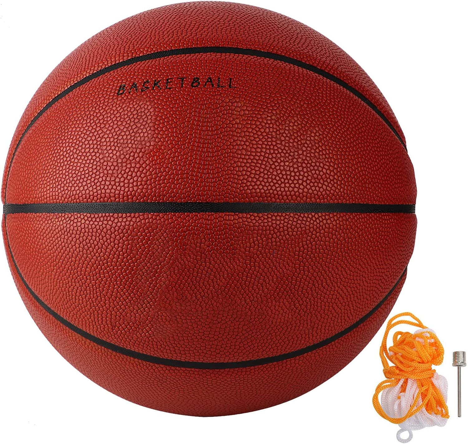 Jinyi Size 7 Basketball Durable Red Ex Some reservation Ranking TOP11 Playing Sports Ball for