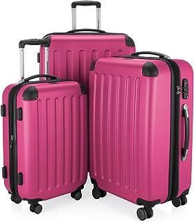 HAUPTSTADTKOFFER Spree - 3er Koffer-Set Trolley-Set Rollkoffer Reisekoffer, TSA, (S, M & L), Set di valigie, 75 cm, 259 li...