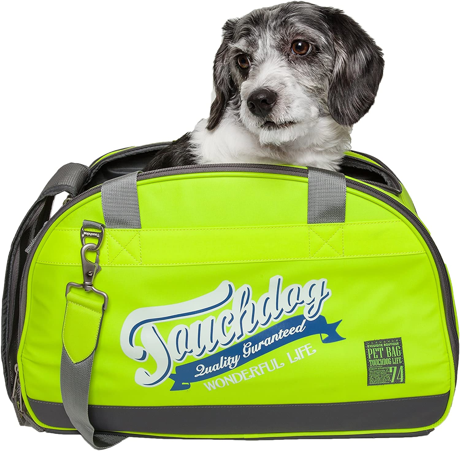 touchdog Original Wick-Guard Water Atlanta Mall Pet Fashion Resistant Carrier Reservation