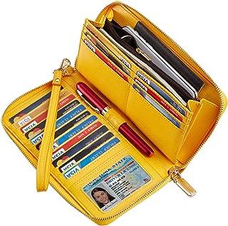 Best double zipper wallet for sale Reviews