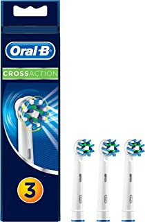 Oral-B Cross Action Electric Toothbrush Replacement Brush Heads Refill, 3 Count
