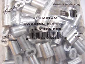 Aluminum Swage Sleeves for 1/8