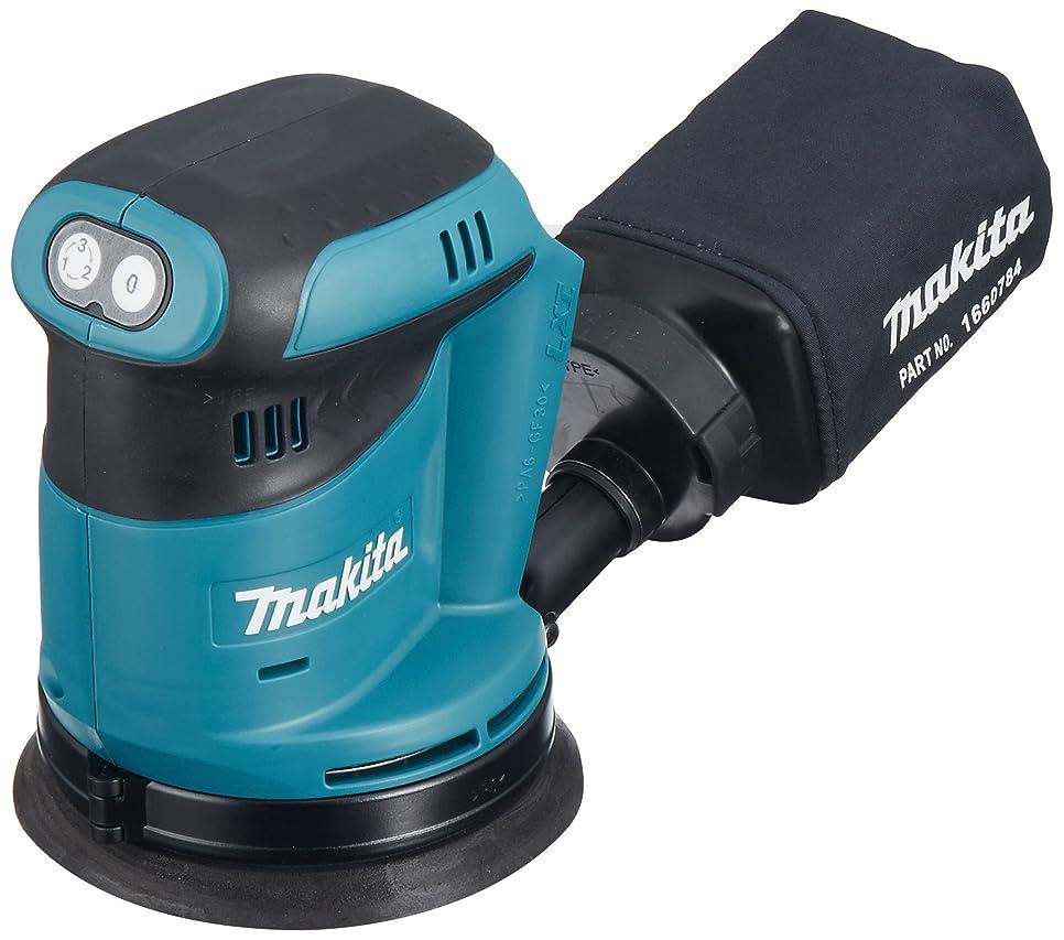青写真デマンド膨張するマキタ(Makita)  充電式ランダムオービットサンダ 18V (本体のみ/バッテリー?充電器別売) ペーパー寸法 125mm BO180DZ