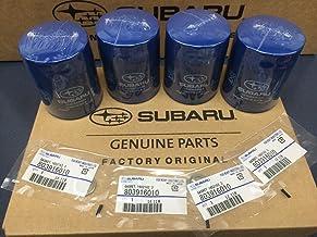 OEM Subaru Engine Oil Filter & Gasket 15208AA15A Geniuine Impreza Legacy Forester 4 PACK