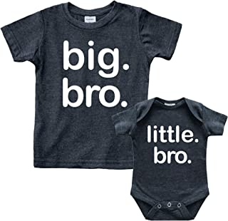 Big bro Little bro Shirts Big Brother Little Brother Shirt Lil Boys Matching Outfits