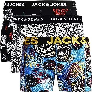Confezione da 3 Pezzi Boxer da Uomo JACK /& JONES