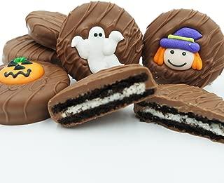 Philadelphia Candies Milk Chocolate Covered OREO Cookies, Halloween Assortment (Cute Witch, Ghost, Pumpkin) 8 Ounce