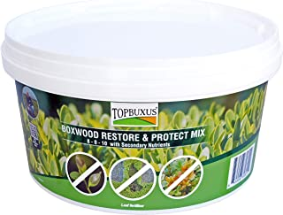 TOPBUXUS Boxwood Restore & Protect Mix (aka Health Mix) - Restore and Protect Your Boxwood Against Boxwood Blight - 40 Tablets for 4,000ft2 Boxwood