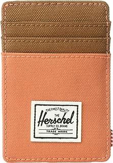Herschel Raven Unisex Wallet, Apricot Brandy/Saddle Brown