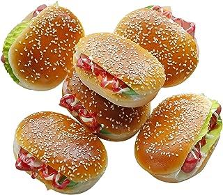 fake hamburger and fries