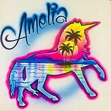 airbrush unicorn shirt