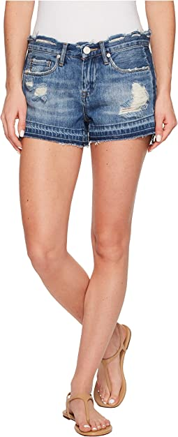 Denim Distressed Cut Off Shorts in Hot Thoughts