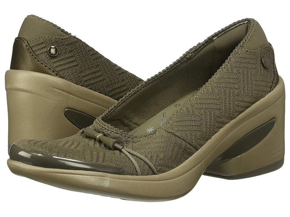 Bzees Electric (Light Brown Boxed Geo Print) High Heels