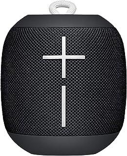 Ultimate Ears Wonderboom Tragbarer Bluetooth-Lautsprecher, Überraschend Starker Sound, Wasserdicht, Verbinde 2 Lautsprecher für Lautstarken Hi-Fi Sound, 10-Stunden Akkulaufzeit - Phantom Schwarz