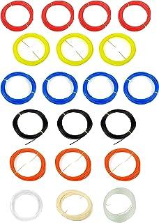 WOL3D (20 in 1) 20pcs * 5m ABS 3d pen filament pack …