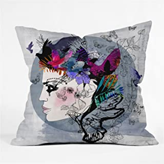 Deny Designs Holly Sharpe Estrella Throw Pillow, 16 x 16