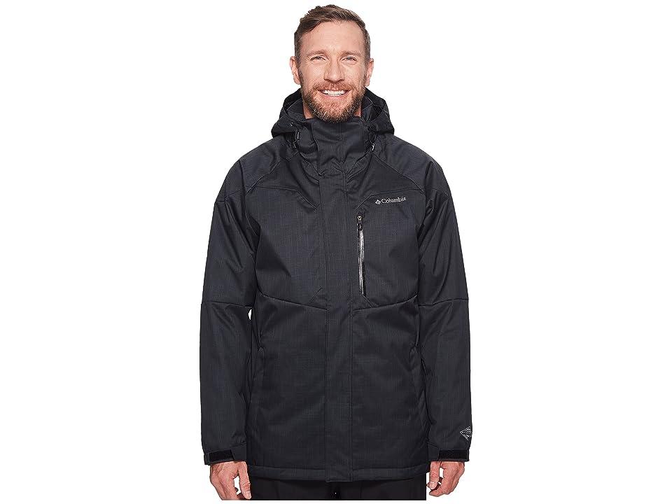 Columbia Big Tall Alpine Actiontm Jacket (Black) Men