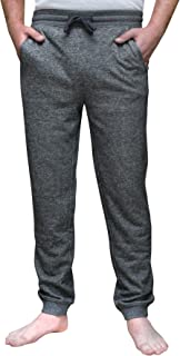 Men's French Terry Marled Jogger Pant with Pockets