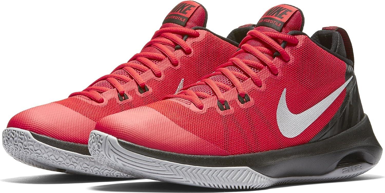 consola Bombero abajo  Amazon.com   NIKE Men's Air Versitile, University RED/Metallic Silver, 8.5  M US   Basketball