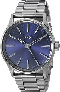 Nixon Men's A4502065 Sentry 38 SS Analog Display Analog Quartz Watch