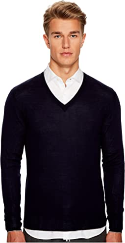 eleventy - Fine Gauge V-Neck Sweater
