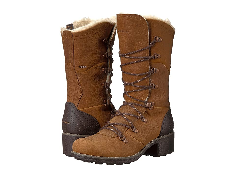 Merrell Chateau Tall Lace Polar Waterproof (Merrell Oak) Women