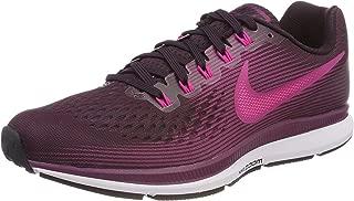 Women's Air Zoom Pegasus 34 Running Shoe Port Wine/Deadly Pink/Tea Berry/Black Size 9 M US
