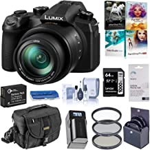 Panasonic Lumix FZ1000 II 20.1MP Digital Camera, 25-400mm f/2.8-4 Leica DC Lens, 4K Video, Optical Image Stabilizer, DC-FZ1000M2 Bundle with Bag, 64GB SD Card, Filter Kit, Battery, Charger + More