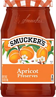 Smucker's Apricot Preserves, 18 Ounces (Pack of 6)