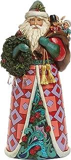 Jim Shore for Enesco Heartwood Creek Winter Wonderland Santa Figurine, 9.75-Inch