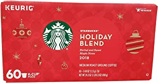 Starbucks Holiday Blend Coffee K-Cups (60 Count)