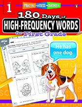 180 Days of High-Frequency Words Series for First Grade