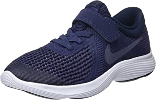 Nike Australia Revolution 4 (PS) Girls Running Shoes, Black/Racer Pink-White