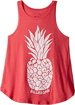 Billabong Kids - Watercolor Pineapple Tank Top (Little Kids/Big Kids)