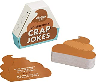 Ridley's Games 100 Seriously Crap Joke Cards for Adults and Kids