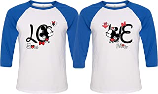 Love Baseball Shirts for Couples - Matching Couple Shirts - King Queen Hoodies