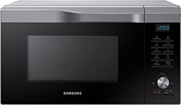 Samsung MC28M6075CS Horno-Microondas de Convección con Tecnología HotBlast (28 L, 900 W, Botones, Giratorio), Negro/Plata
