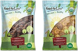 Organic Dried Apricots and Figs Bundle - Organic Dried Apricots, 8 Pounds and Organic Dried Figs, 8 Pounds - Non-GMO, Kosh...