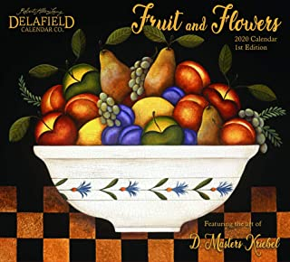 2020 Fruit and Flowers Wall Calendar (1st Edition)