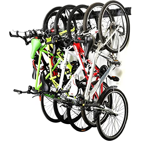black road bike Rendcqin Bike Rack Hanger Pedal to Wall Bracket Bicycle wall mount bike rack for wheel frame parking mountain bike