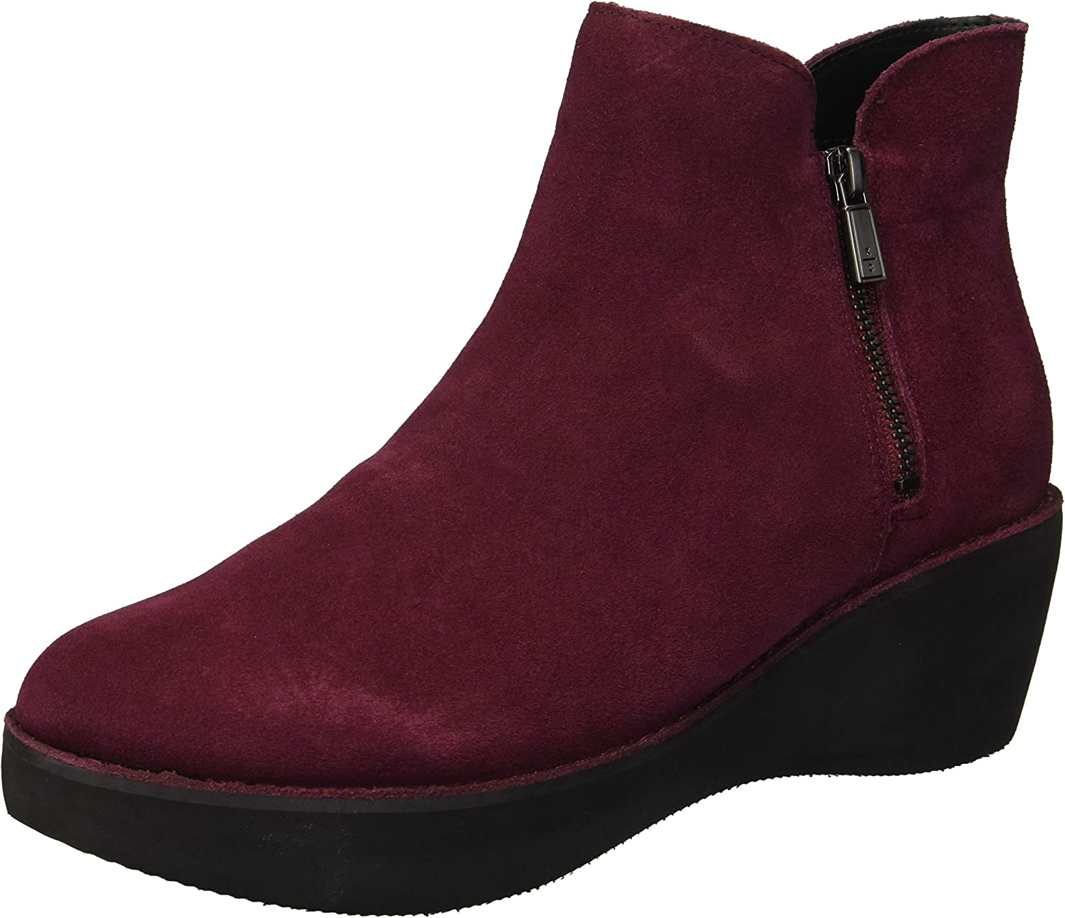 Kenneth Cole REACTION Womens Prime Platform Bootie with Side Zip Ankle Boot