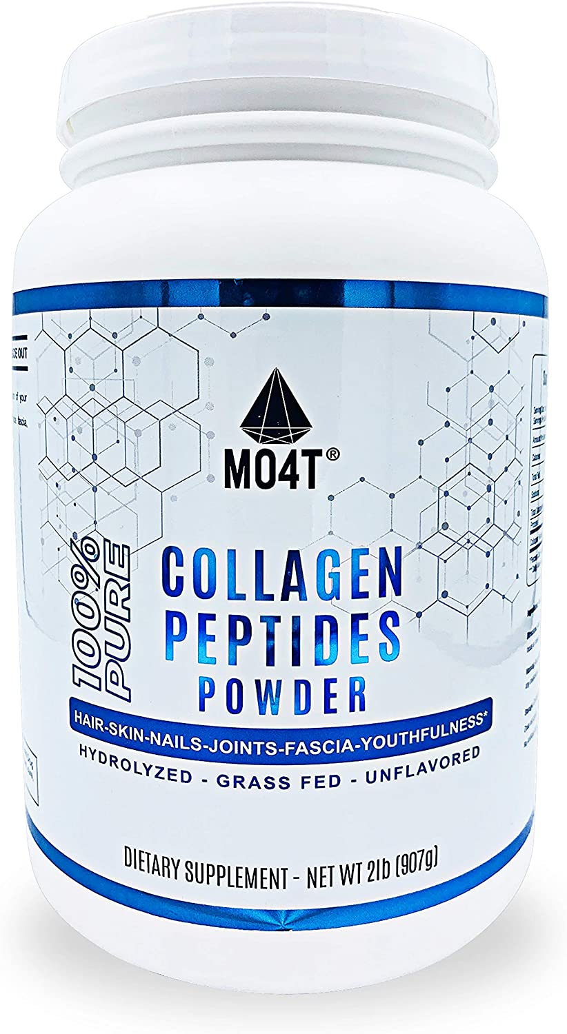 Quality inspection MO4T Grass-Fed Hydrolyzed Bovine Perfect 5 ☆ popular Coll Peptides- Collagen