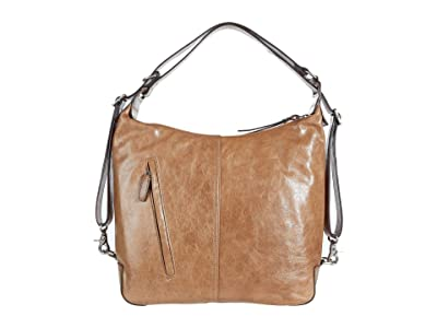 Frye Gia Convertible Backpack (Taupe) Backpack Bags