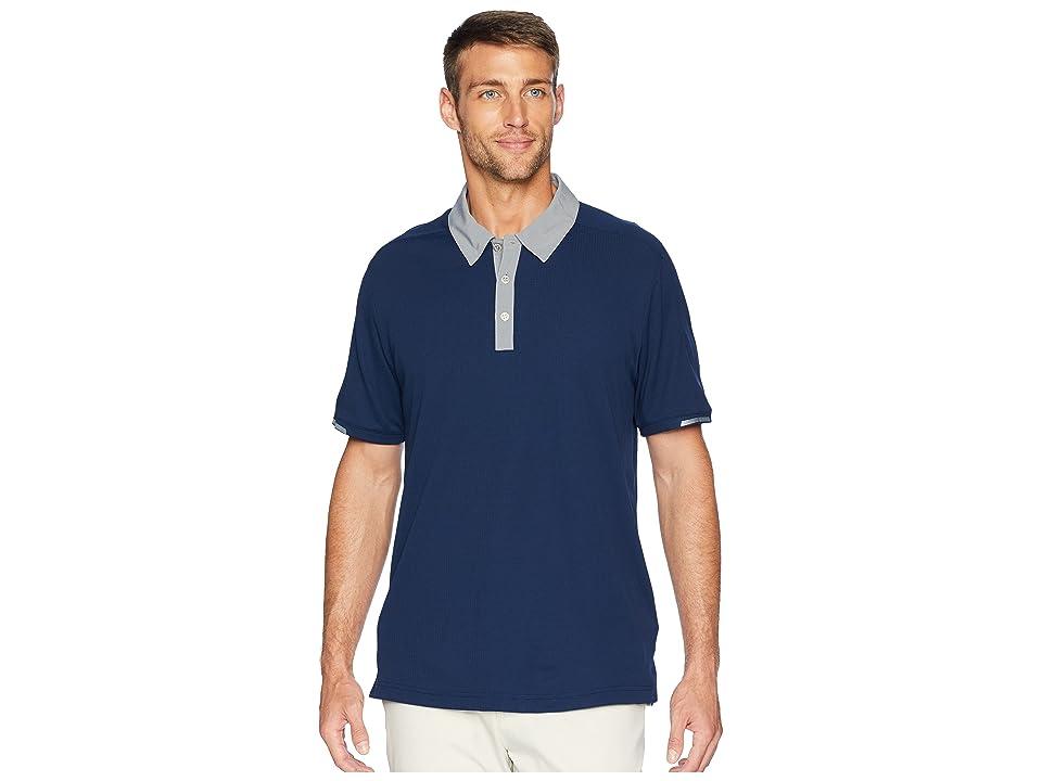 adidas Golf CLIMACHILL(r) Iconic Polo (Collegiate Navy) Men