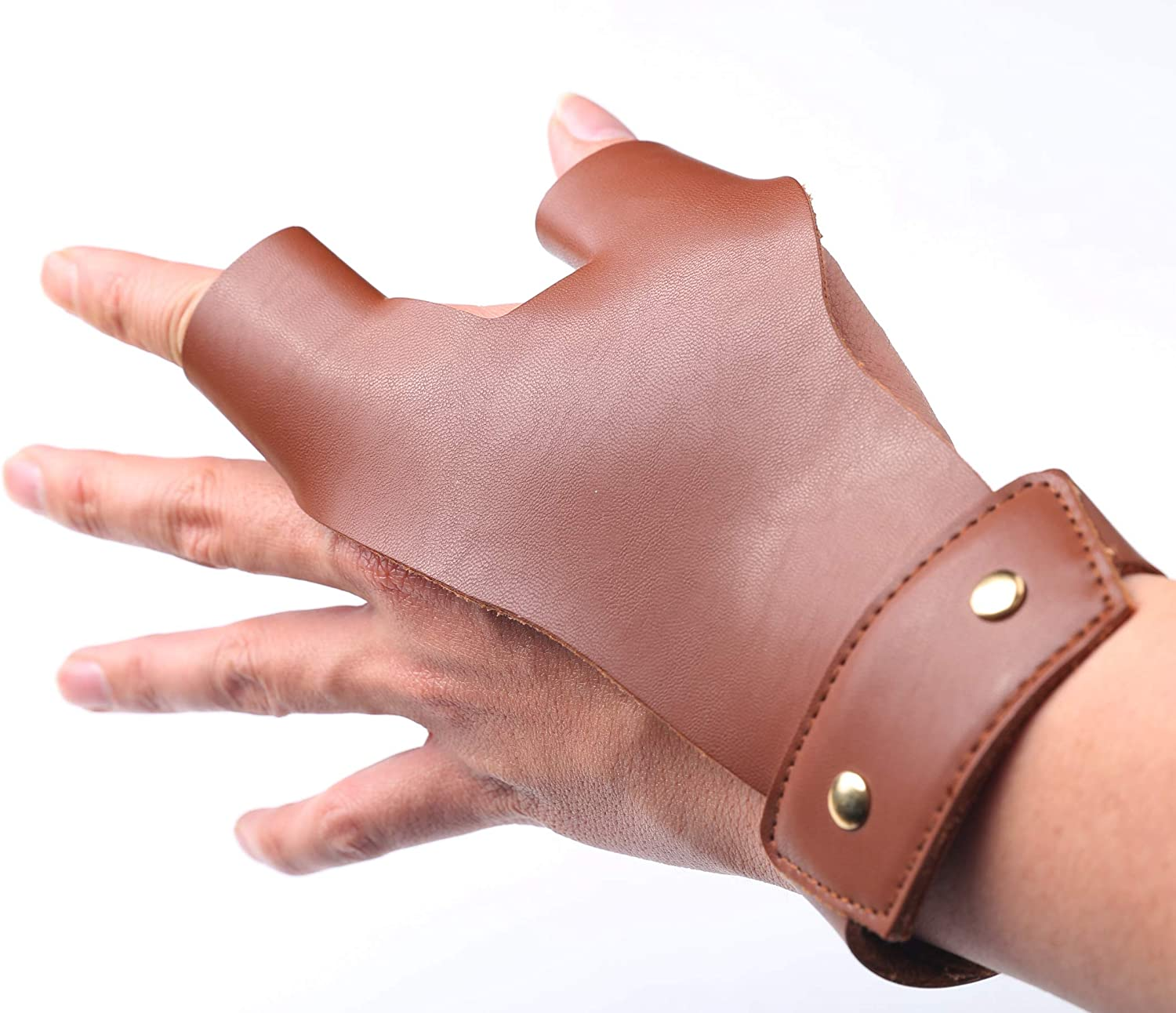 LOKHEIRA ARCHERY Arrow New products world's At the price of surprise highest quality popular Gloves 2 Finger Guard Leather Protective