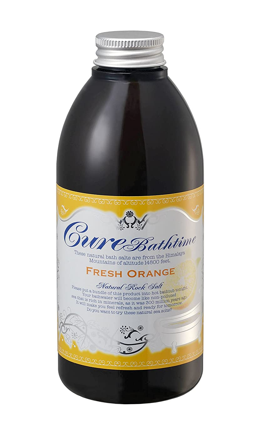 レキシコン障害者化学キュア CureBathtime フレッシュオレンジの香り