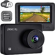 Rove R1 WiFi Dash Cam 1080P FHD Built in Sony CMOS Sensor Car Driving Recorder 2.45