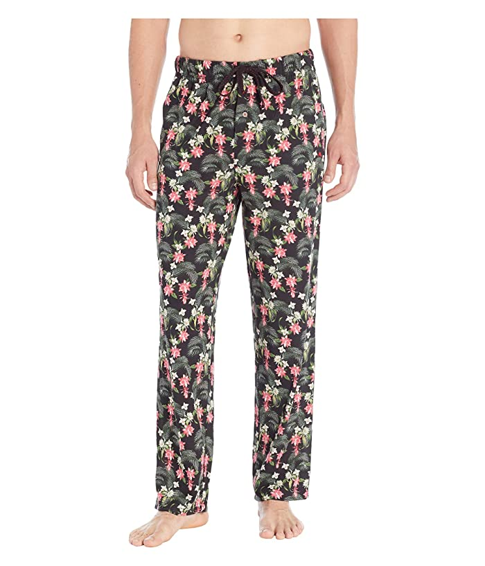 Tommy Bahama Printed Knit Pants (Floral Leaves) Men