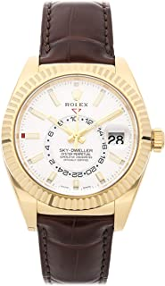 Rolex Sky-Dweller Mechanical (Automatic) Silver Dial Mens Watch 326138 (Certified Pre-Owned)